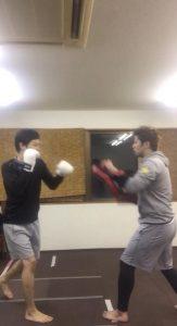 キックボクシング!!!