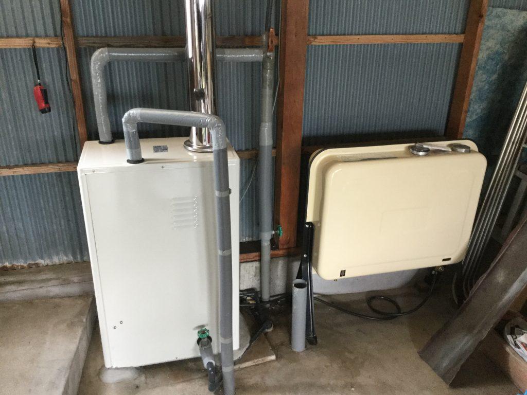 【給湯器交換工事】省スペース、省エネな給湯器に