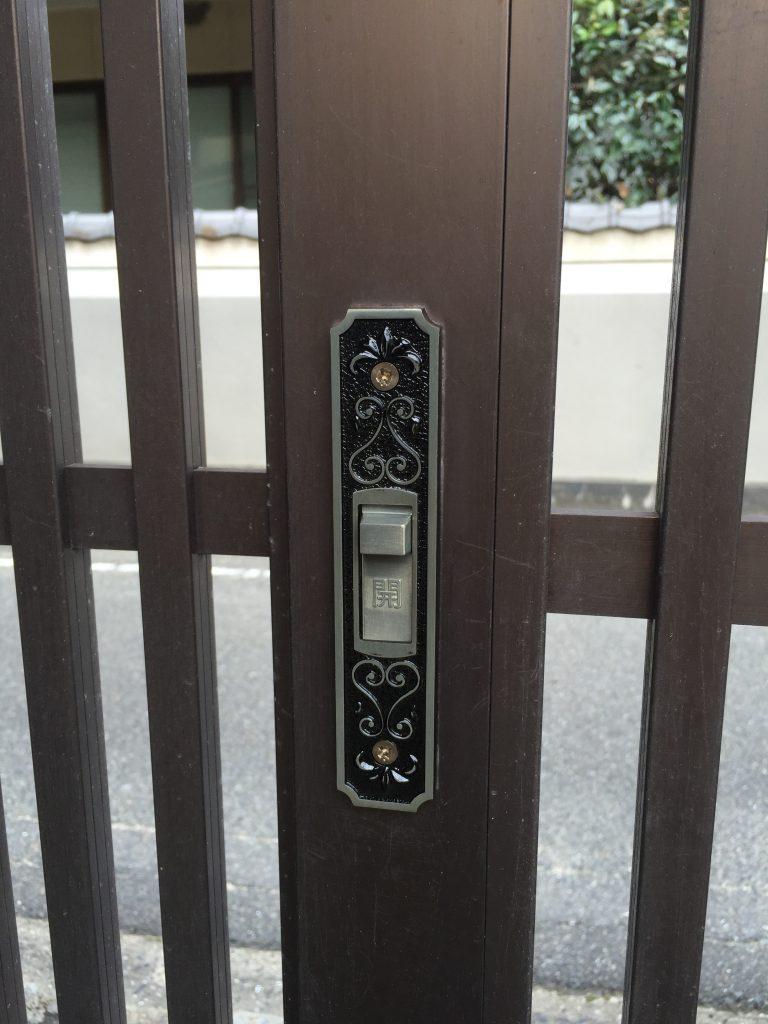 【門戸鍵交換】鍵だけの交換も可能です
