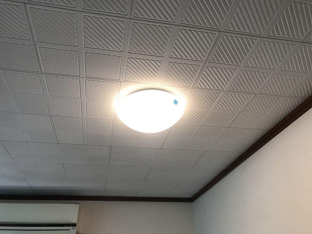 【照明新設工事】暖かな光で明るい食卓に