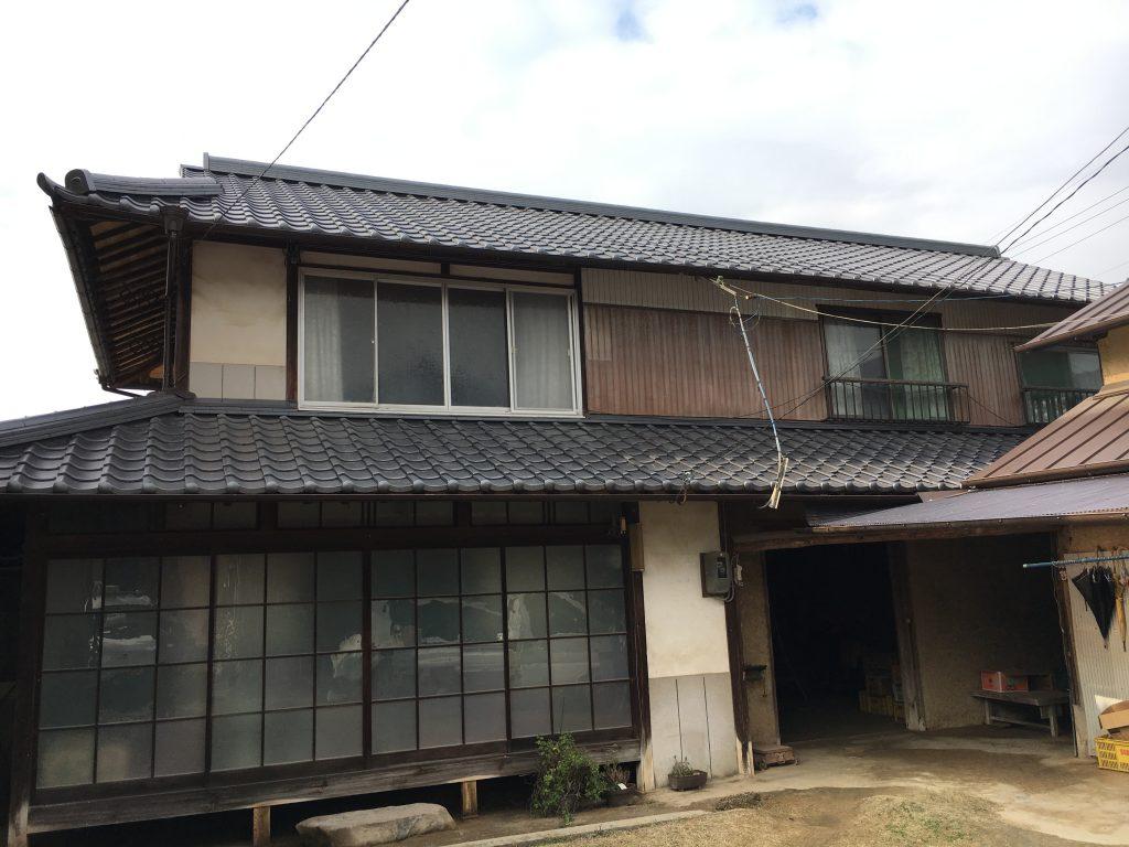 【屋根瓦葺き替え工事】