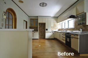 中古住宅を生活スタイルに合わせて改装