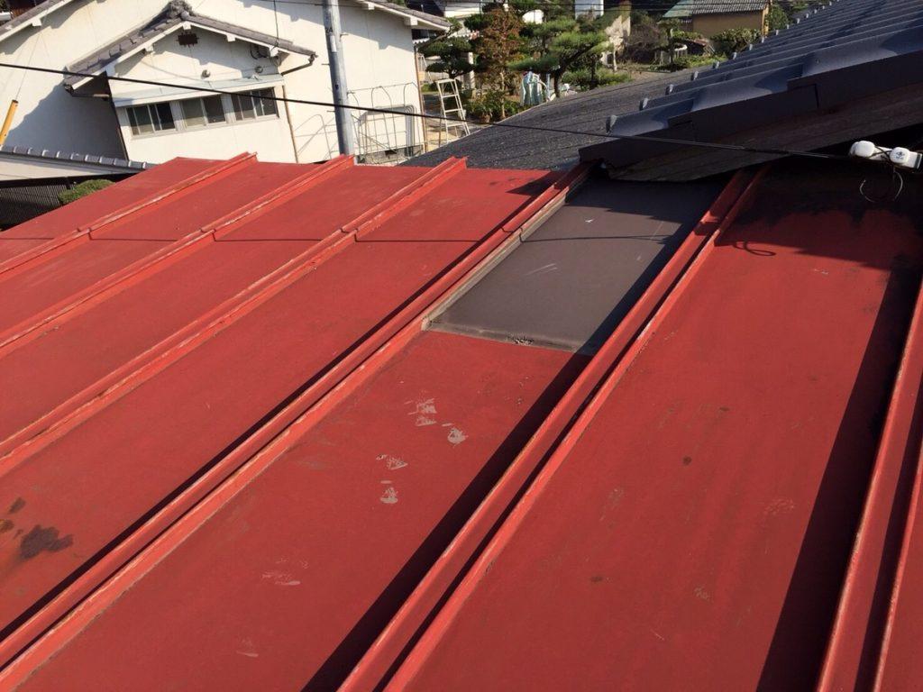 カーポート板金屋根塗装