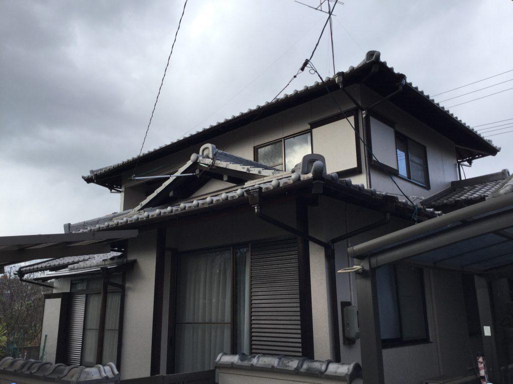 外壁塗装工事(シリコン)