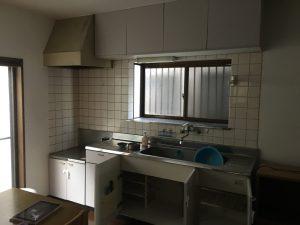 キッチン取り替え工事