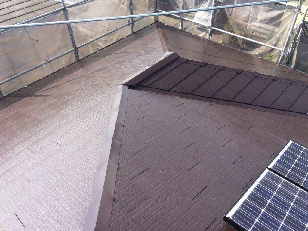 屋根塗装&太陽光発電システム設置