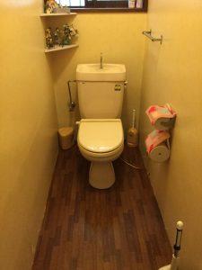 トイレ改修工事(内装も)