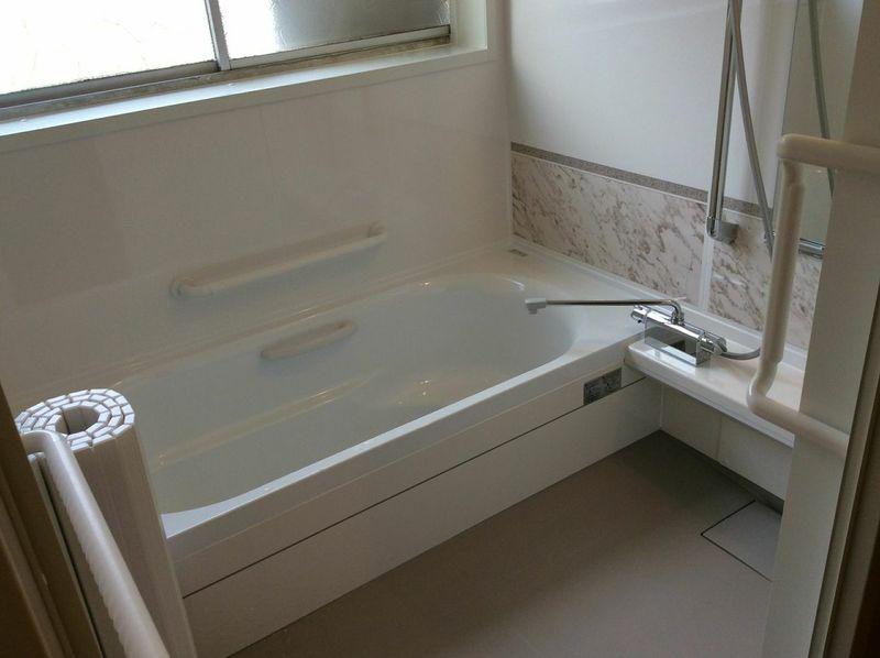 広々浴槽♪