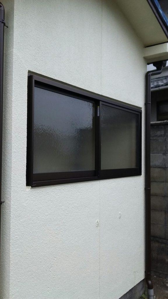 木製窓⇒サッシ交換