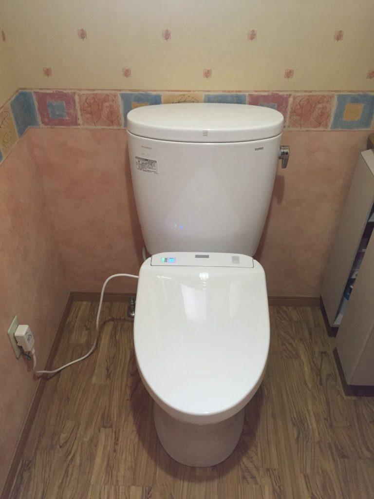 節水・節電のトイレに。
