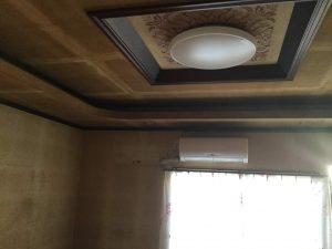 天井がスッキリしました。
