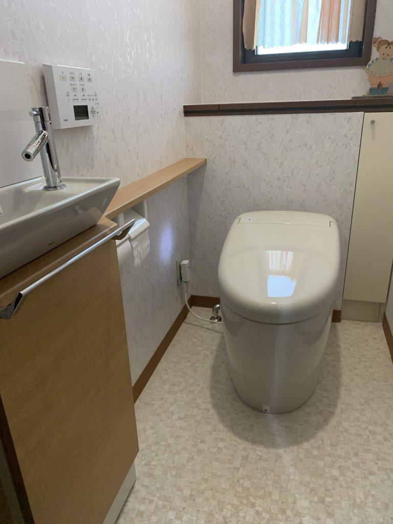 【トイレ交換工事】毎日使うトイレを快適に