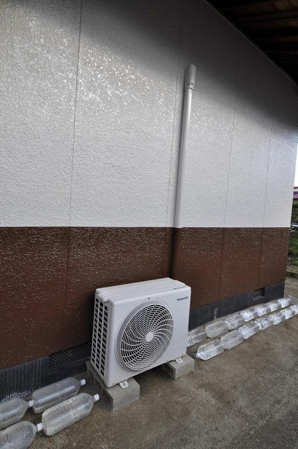 【外壁塗装工事】無機塗料で汚れ知らずの家に。