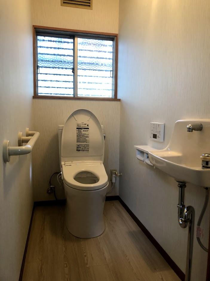 【トイレリフォーム】リフレッシュ!気持ちの良いトイレ空間へ。