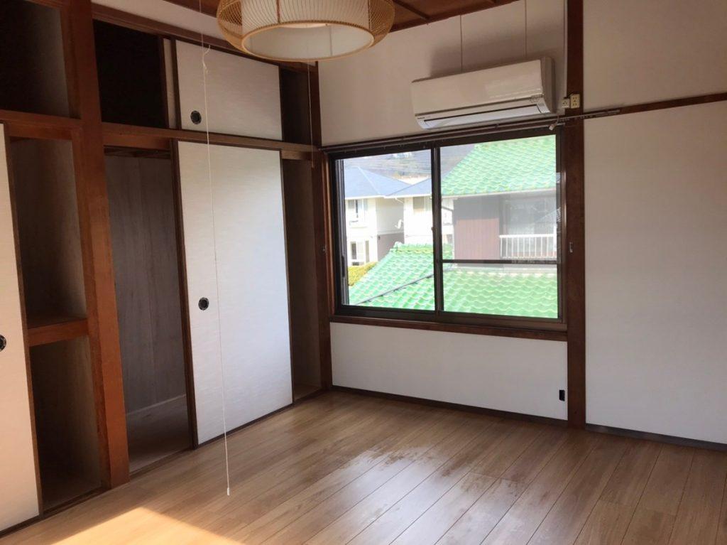 【和室→洋室】リフォームで生まれ変わったお部屋に。