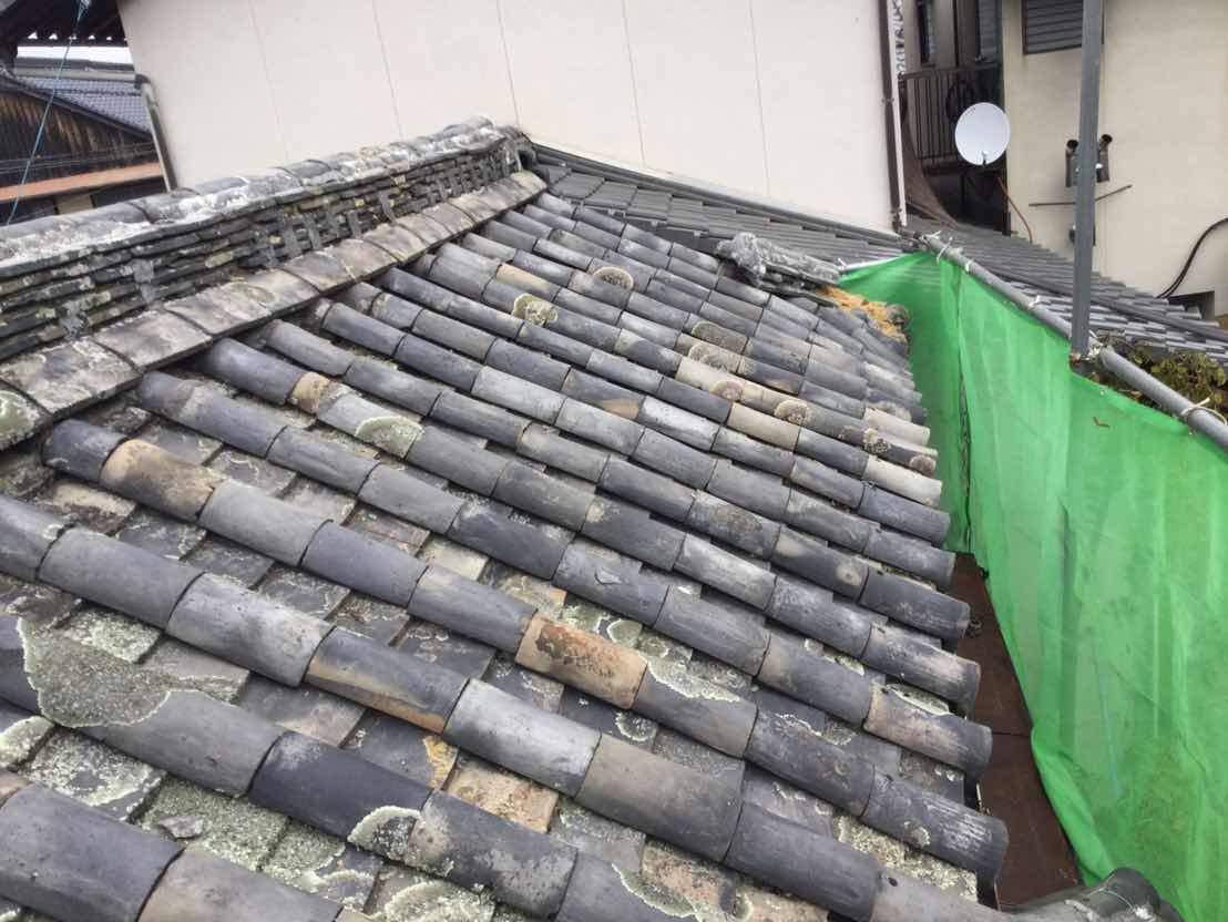 昔ながらの寺を屋根改修しました!
