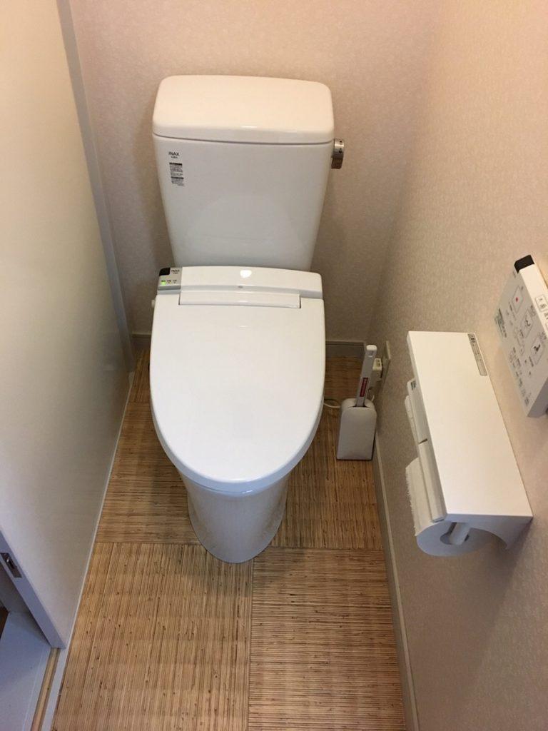 【トイレ交換LIXIL】時代は節水型!