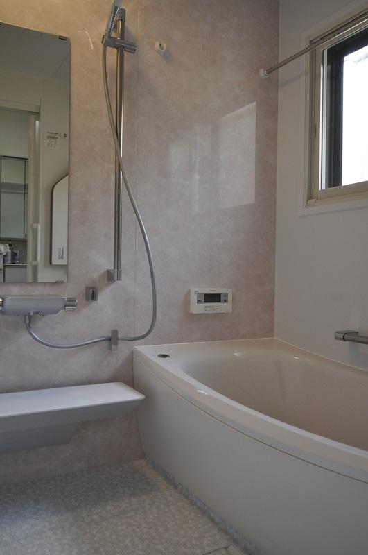 【浴室改修工事】キレイで快適なお風呂になりました。