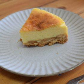 チーズケーキを作ってみました。