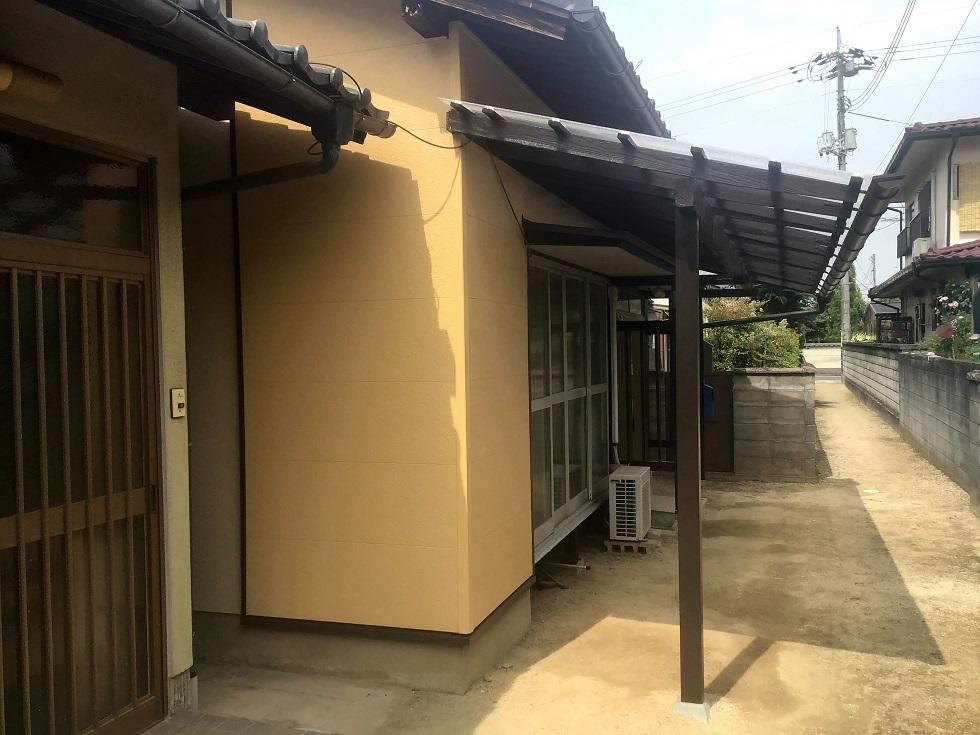 外壁カバー工法で新築のような外観へ!