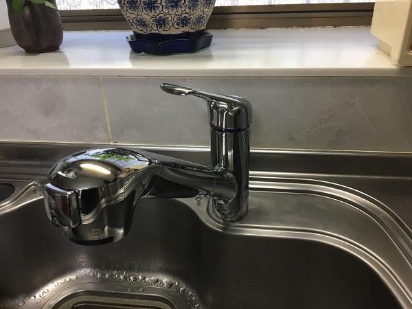 【キッチン水栓】蛇口一体型浄水器でキレイなお水を。