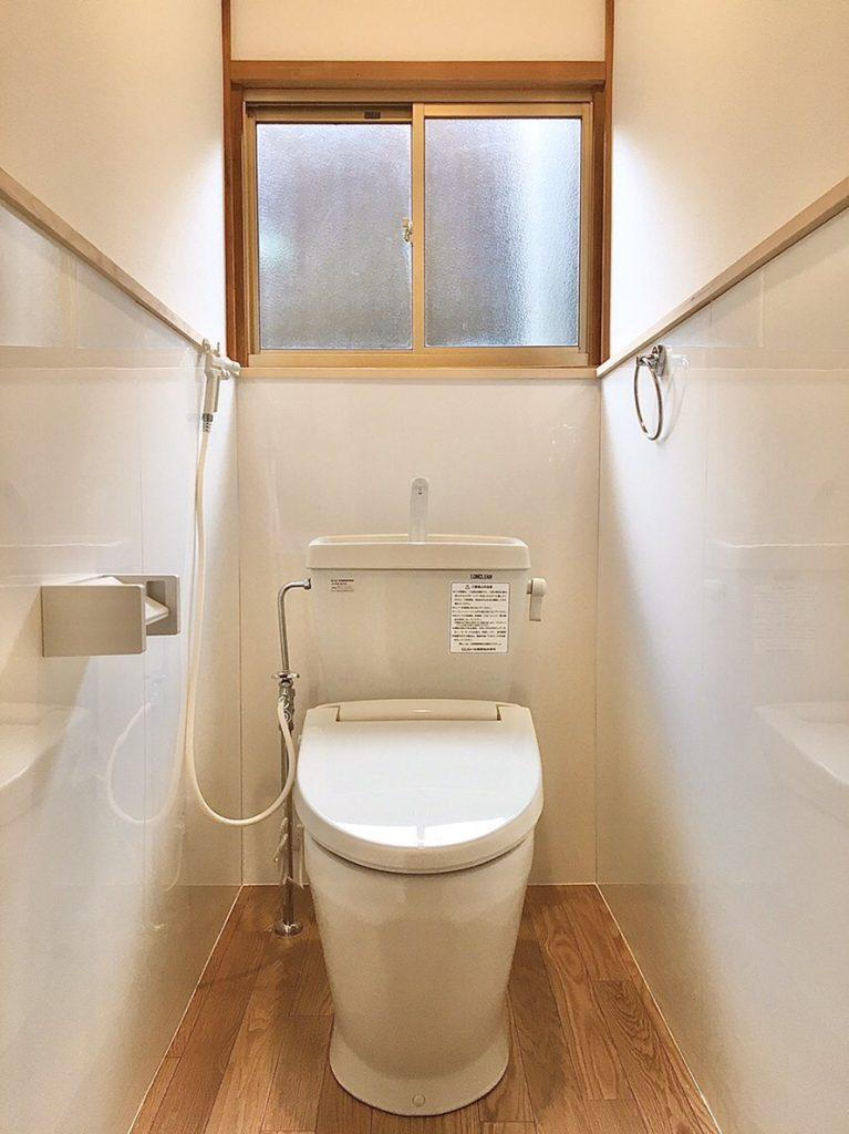 【トイレ】汲み取り和式→簡易水洗洋式へ。