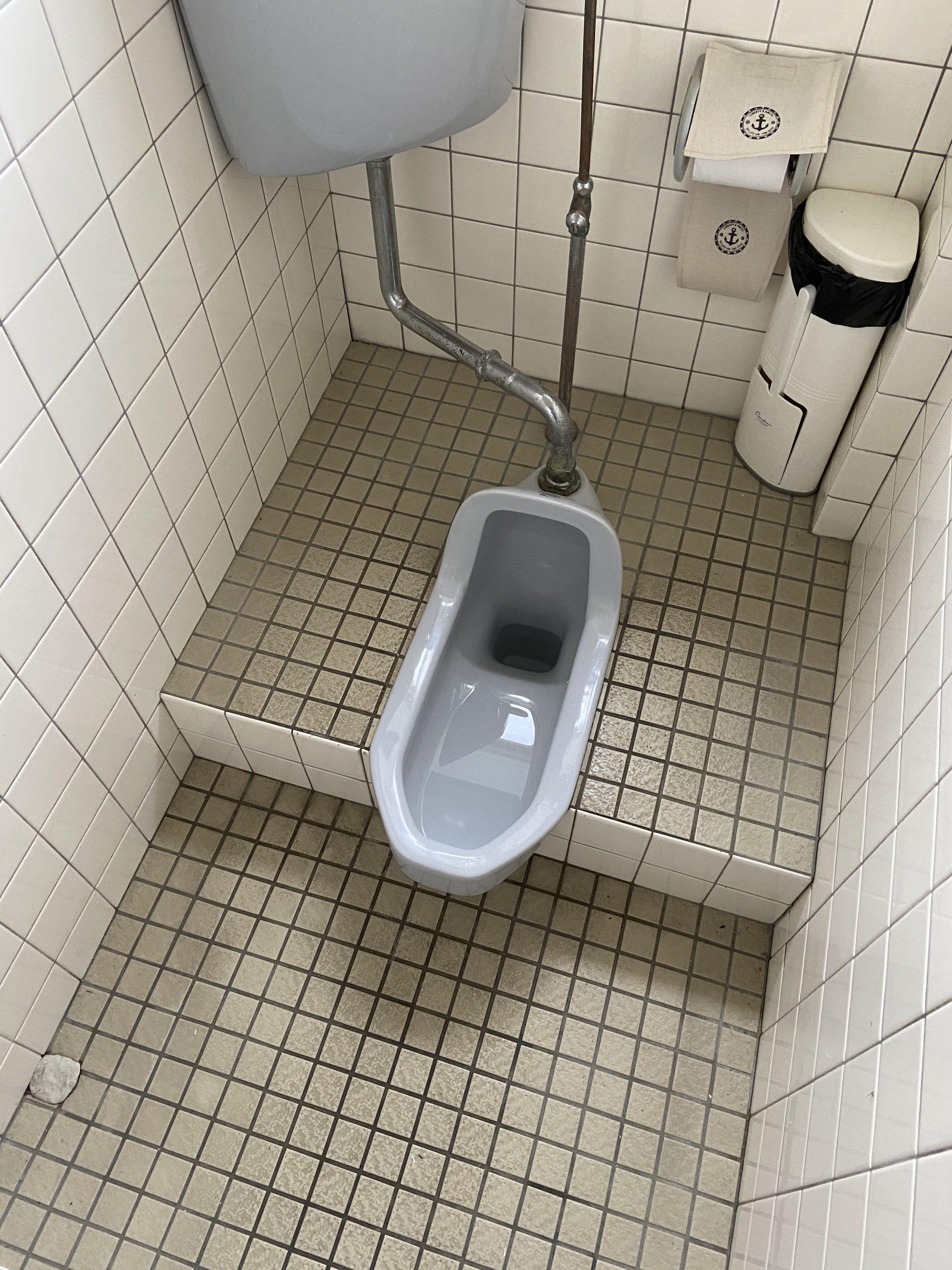トイレ工事 床解体編!