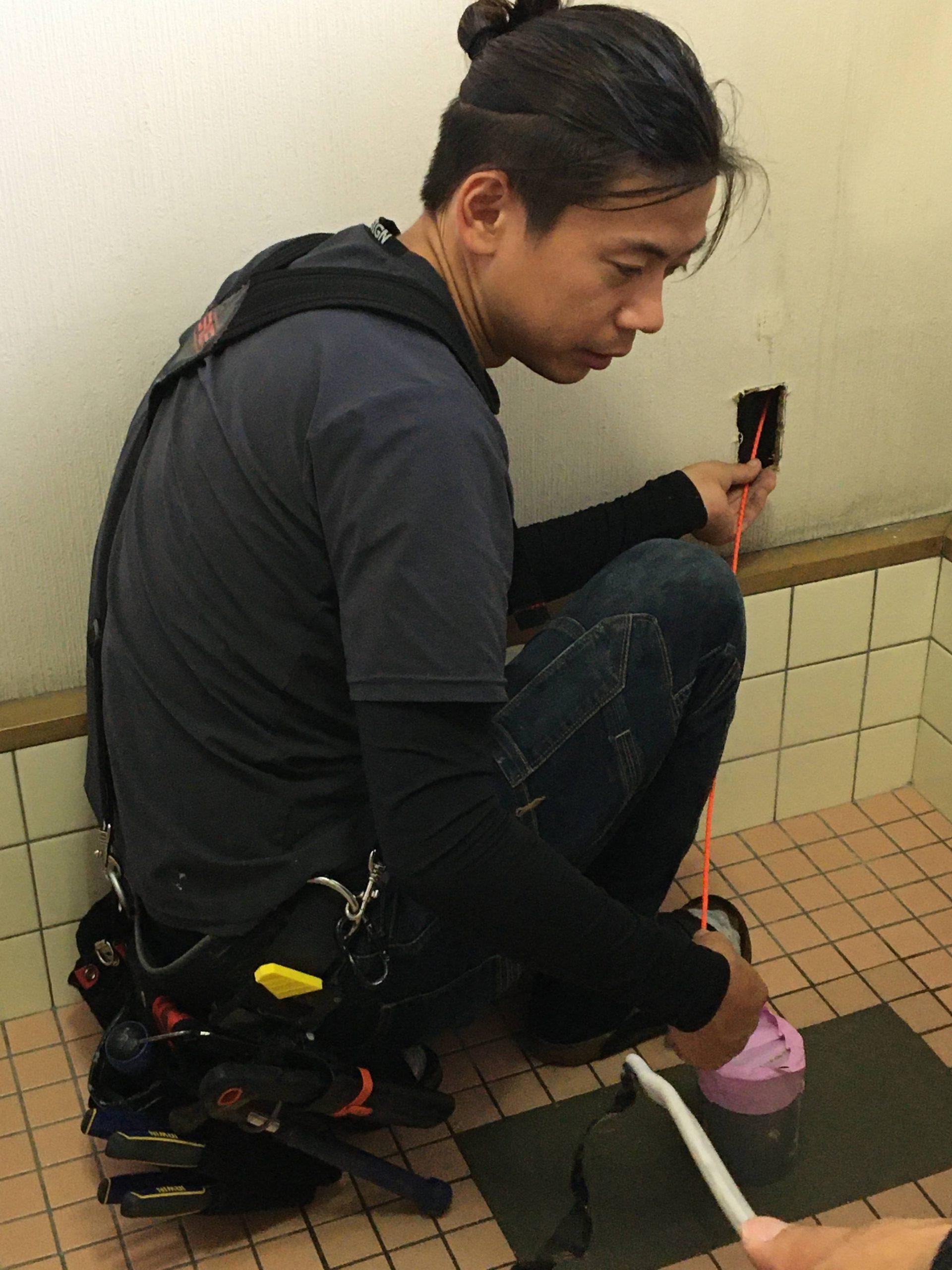 和式トイレから洋式トイレへ②