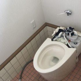 和式トイレから洋式トイレへ③