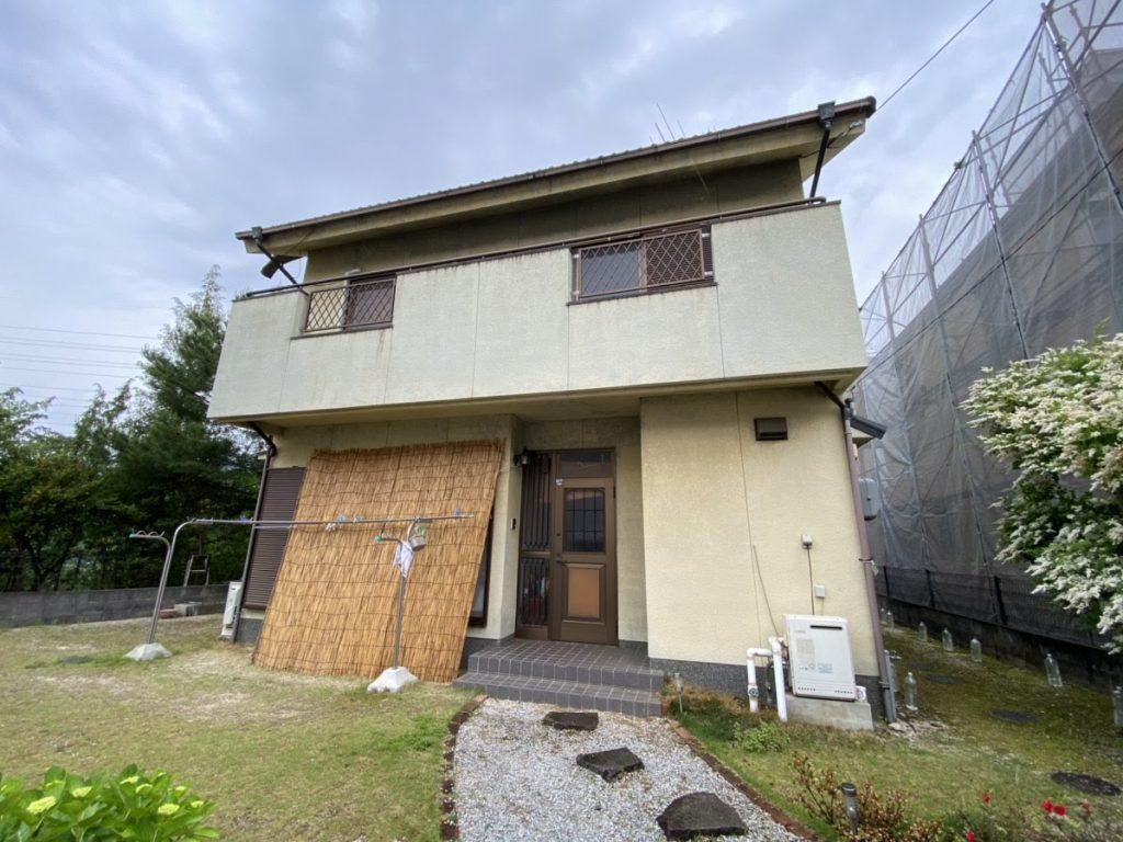 高耐久の塗料で、長く安心してお住まいいただけるお家になりました