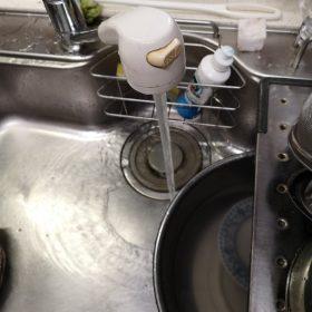 自宅の水栓修理しました