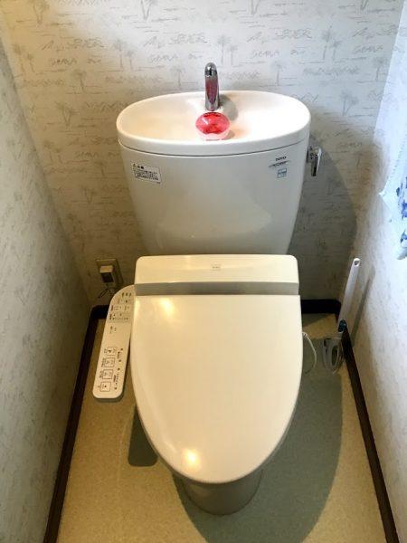 トイレのリフォームを行いました!①