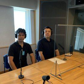 ラジオCM。