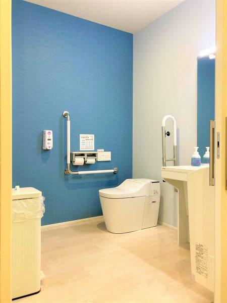壁紙を1枚アクセントにするだけでトイレをオシャレ空間に!アクセントクロス活用法!