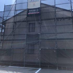 倉敷市福田町アパート塗装工事①