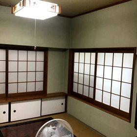 和室の左官壁も。。