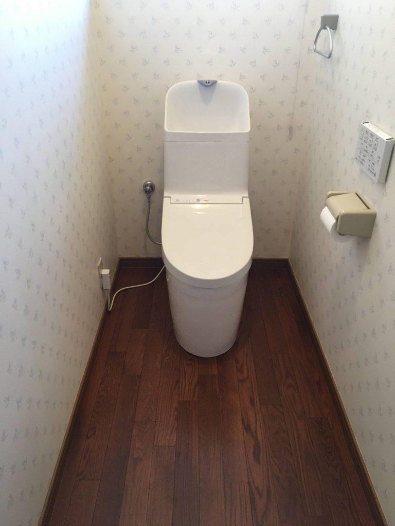 【トイレ工事】雰囲気は変えず機能は向上!