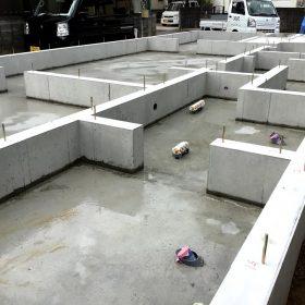 岡山市内 新築工事