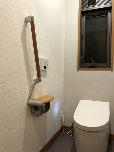 【トイレ工事】トーンを合わせた空間に