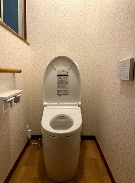 和式⇒洋式 快適なトイレ空間へ☆