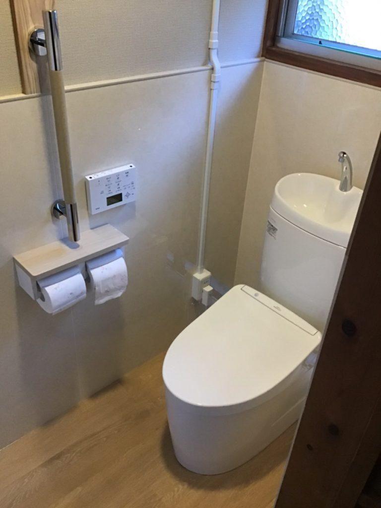 【トイレ交換】念願の洋式トイレに交換!!