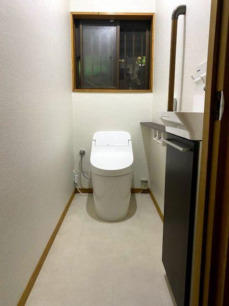 トイレの内装材 揃えてオシャレな空間に☆