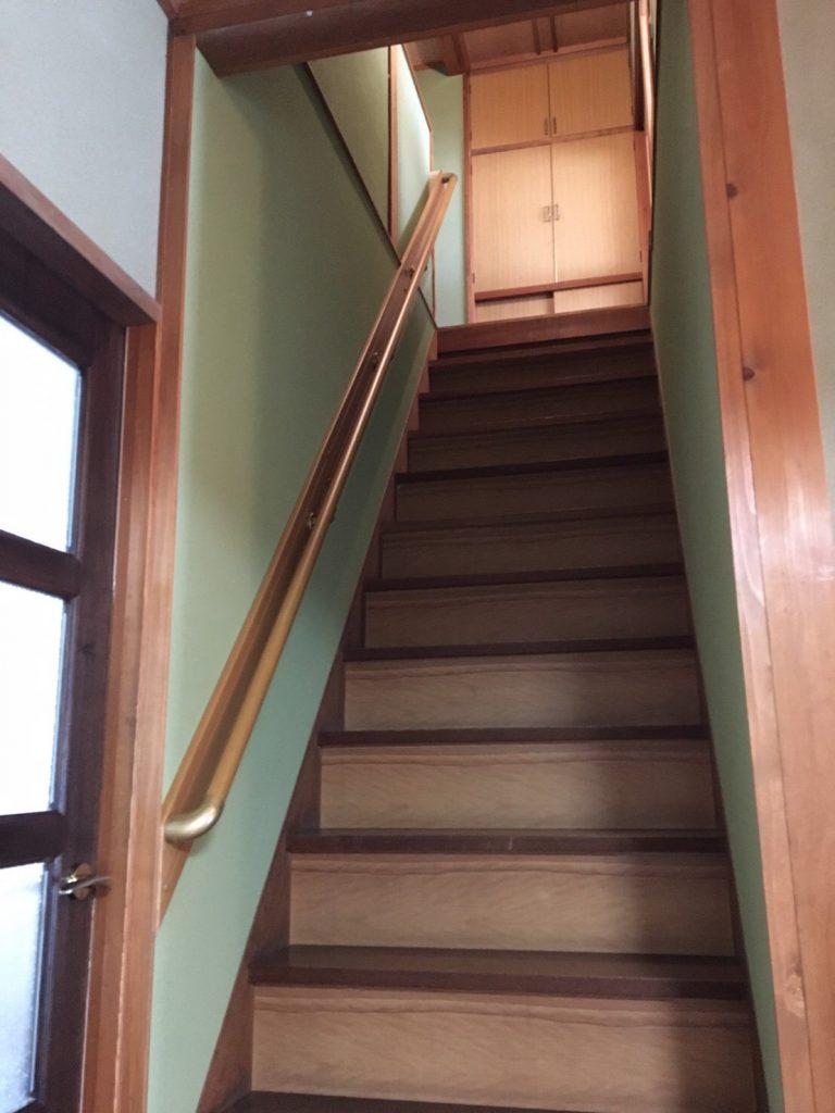 これで階段の上り下りも安心です!