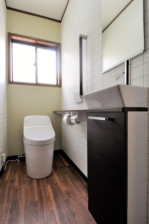 【トイレ】見た目もすっきり!トイレも快適に!