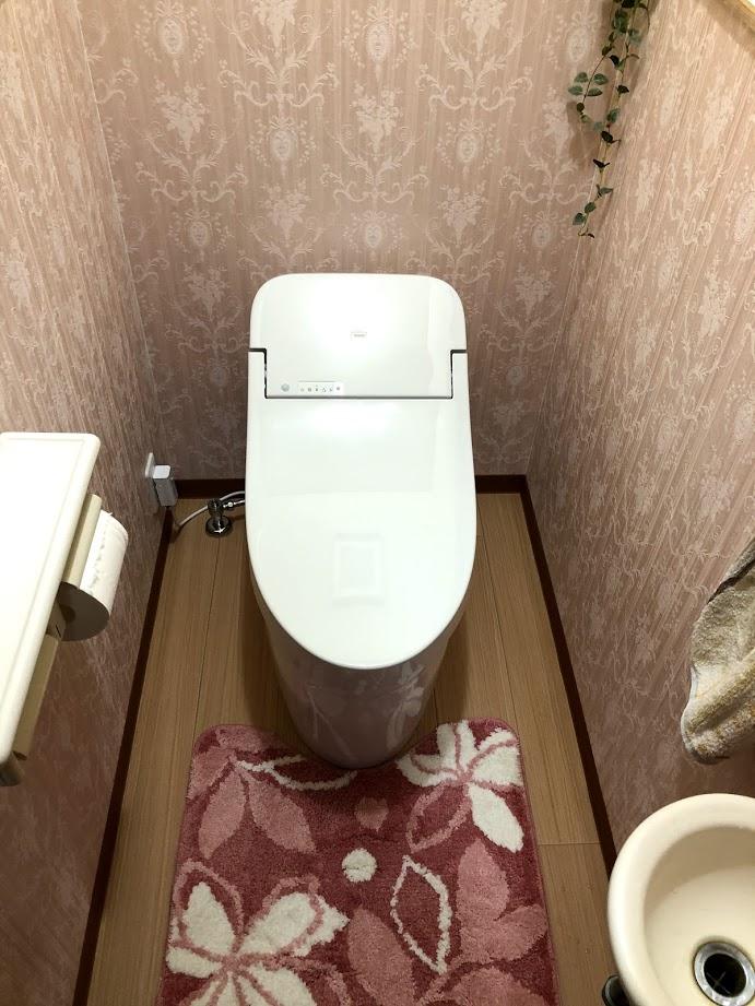使いやすいトイレになって来客も安心!