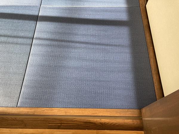 藍色の畳!!