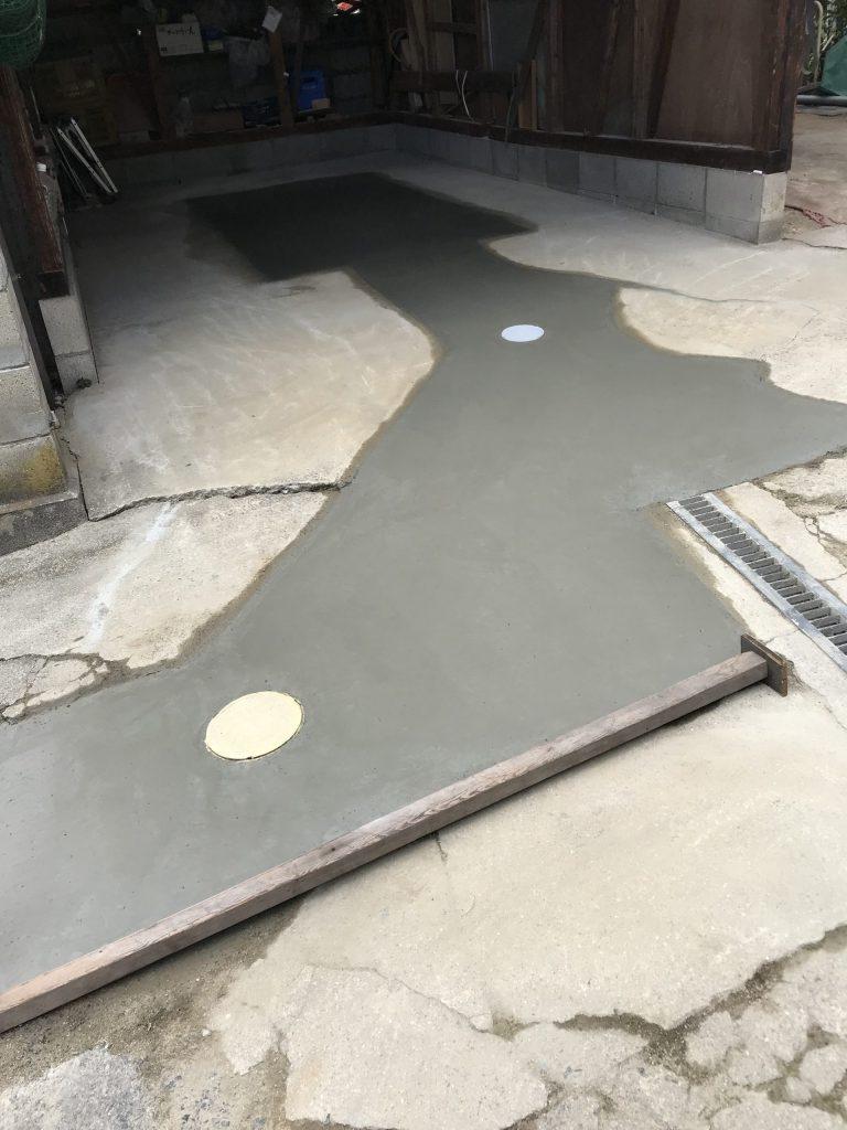 浄化槽→下水接続