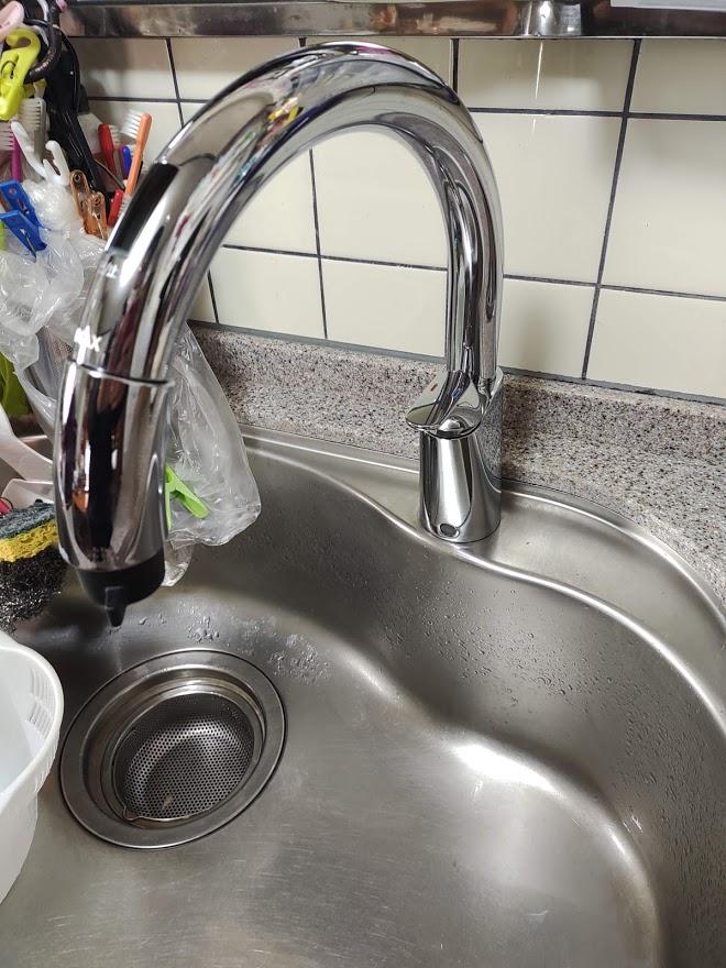 キッチン水栓をタッチレス水栓に交換をしませんか?