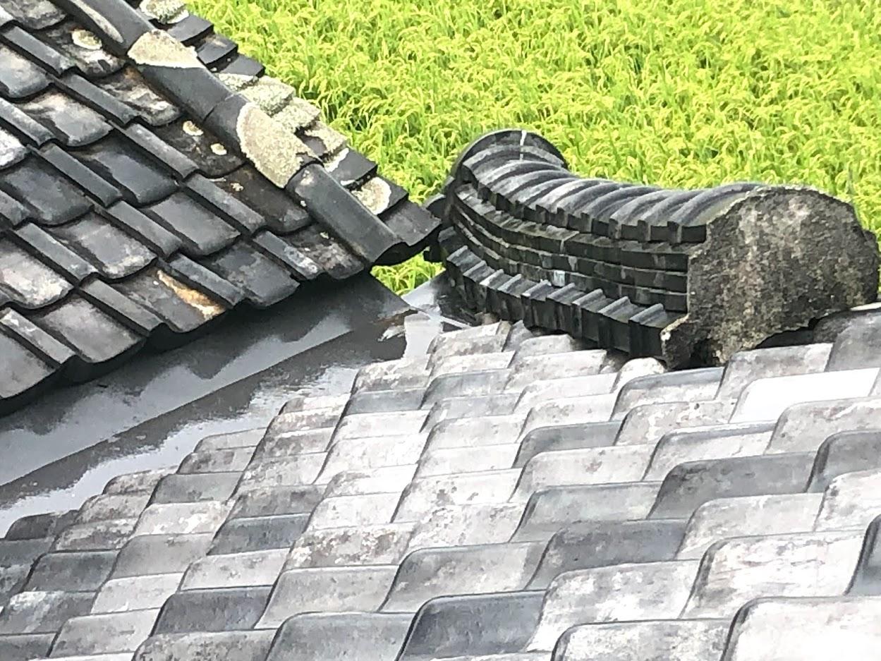 瓦補修・雨漏り修繕も承ります!