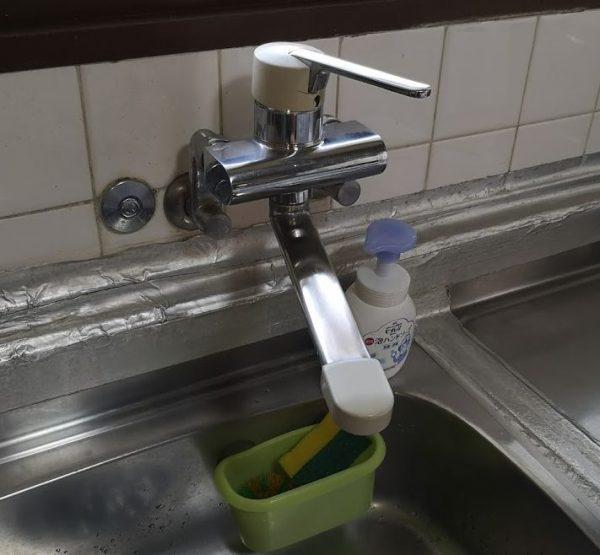 キッチン水栓交換しました!